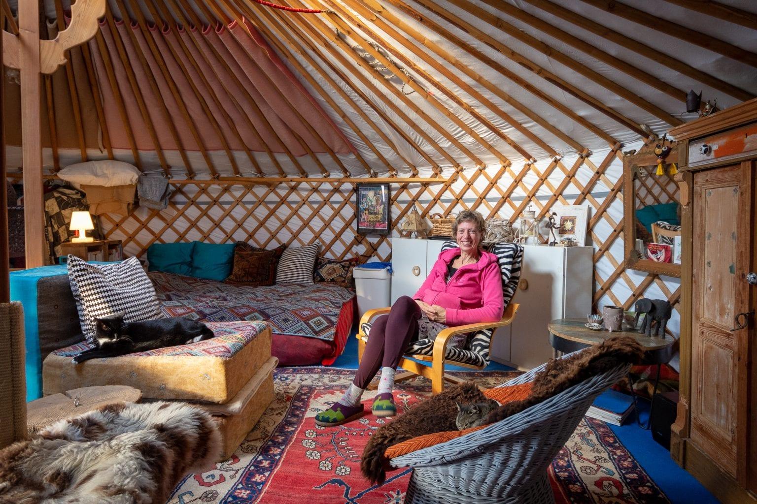 Binnen kijken: Elbrecht en haar dochters wonen in een
